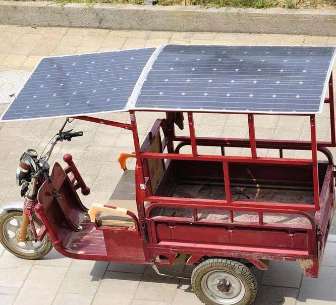 Light weight solar panel