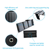 solar charger 21w survival series with compass high efficiency solar cell dual usb for smart phone powerbank camping climb hiking wide life rural travel
